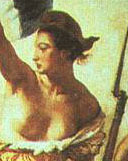 Detail from La Libert� guidant le peuple