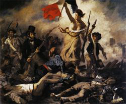 La Libert� guidant le peuple