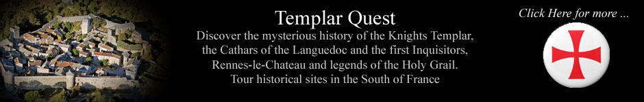 Click here for Templar Tours in the Languedoc, France in a new window