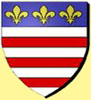 The coat of arms of Beziers