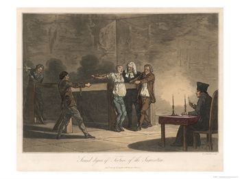 """Second Degree of Torture of the Inquisition"", The Victim is Tied to a Contrivance"