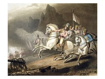 "Pyrenees, 28th July 1813, from ""The Victories of the Duke of Wellington"""
