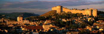 Fort St. Andre, Gard, Villeneuve-Les-Avignon, France