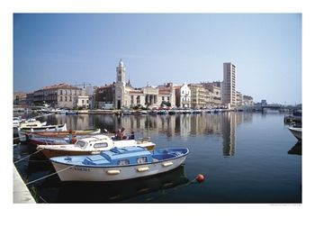 Sete Harbor of Languedoc-Roussillion, SW France