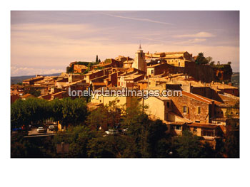 Village in Roussillon District, Languedoc-Roussillon, France