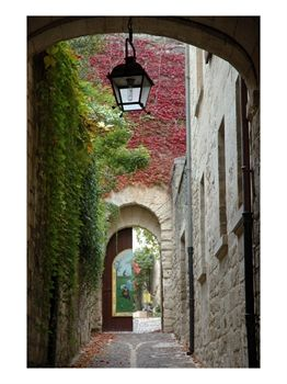 Alley to Garden, Languedoc-Roussillon, France